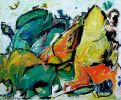 Ohne Titel (ER) 46x55 cm, w.Rahmen, AcrylLeinwand
